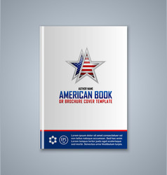 Brochure cover template vector