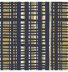Vertical lines and dots on bold golden stripes vector