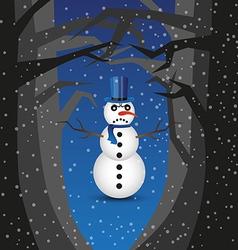Bad snowman vector