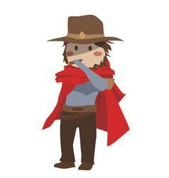 Blizzard overwatch mccree clipart vector
