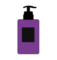 cosmetic bottle dispenser icon image vector image