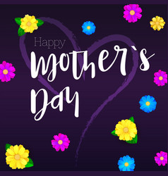 Happy mother day greeting banner for your vector