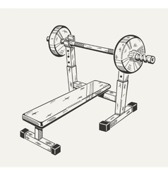The image with of training apparatus vector