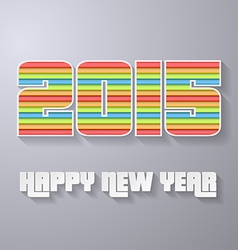 2015 new year abstract backgroung layered paper vector