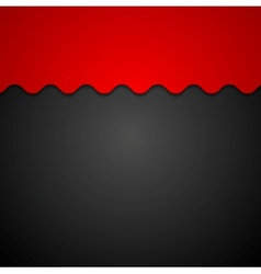 Red and black corporate background vector image