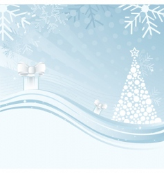 An abstract christmas background illustration vector