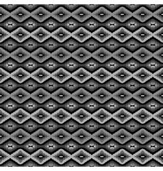 Geometric backround in grey tones vector