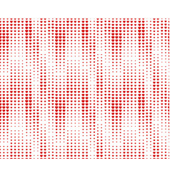 Halftone seamless pattern dotted backdrop vector