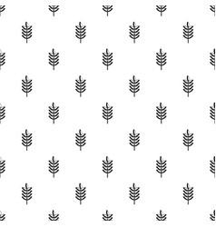 Rye spica pattern vector