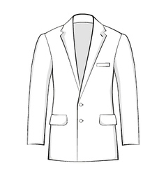 Suit vector image vector image