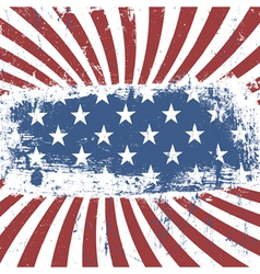 American flag background vintage abstract vector