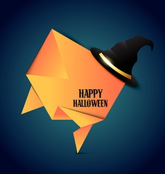 Halloween hat vector