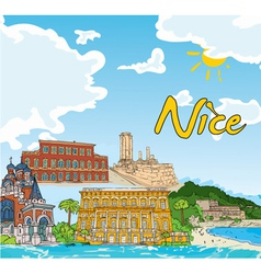 nice doodles vector image
