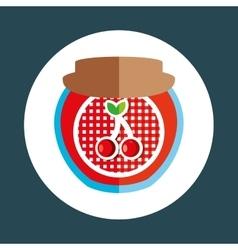 fruit jam design vector image