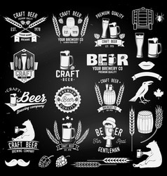 Vintage design for bar pub and restaurant vector