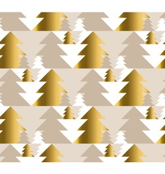 xmas tree luxury pastel color seamless pattern vector image