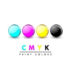 Cmyk icons vector