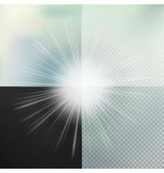 Glow light effect eps 10 vector