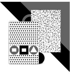 bauhaus background vector image vector image