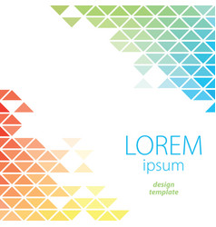 Design template lorem ipsum poster vector