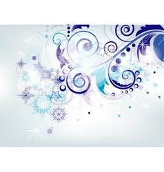 Elegant Christmas abstract background with vector image