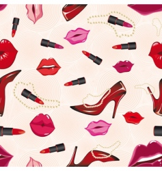 Lips background vector