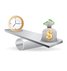 Balance between time and money vector