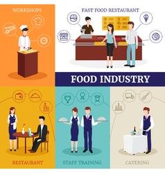 Restaurant People Design Concept vector image