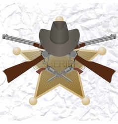 Sherif-3 vector image