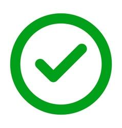 Check icon vector image vector image