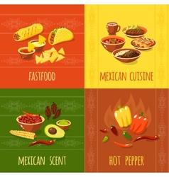 Mexican Design Concept vector image