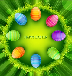Easter background design vector