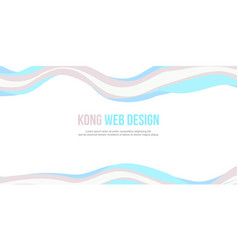 abstract header website banner modern style vector image vector image