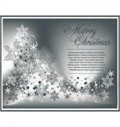 Christmas luxury background vector image