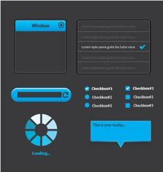 Elegant web design vector image vector image