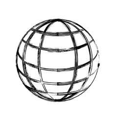 Sphere web networking vector