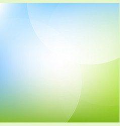 green and blue background with line vector image