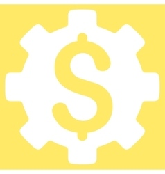Development cost icon vector