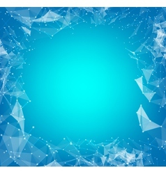Abstract polygons vector image vector image