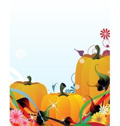 Fabulous pumpkins vector