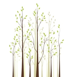 Trees 41 vector image