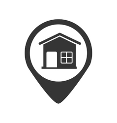 Imprimir real estate home building icon vector