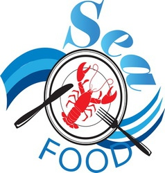 Sea food1 vector