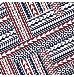Maori style ornament vector