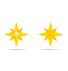 Pair of Stars vector image vector image