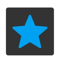 Star icon from Award Buttons OverColor Set vector image vector image