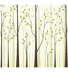 Trees 43 vector image