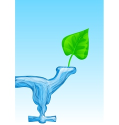 water for life vector image
