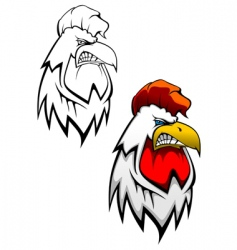 Cock head tattoo vector