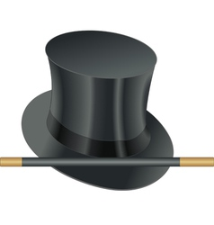 Hat wand vector